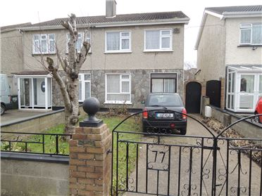 Main image of 77, Suncroft Drive, Tallaght,   Dublin 24