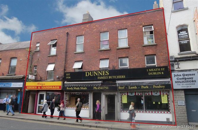 1, 1A, & 2 Meath Street, South City Centre - D8, Dublin 8