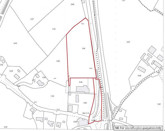 Photo of Land at Dunkitt (Folio KK30547F), Co. Kilkenny