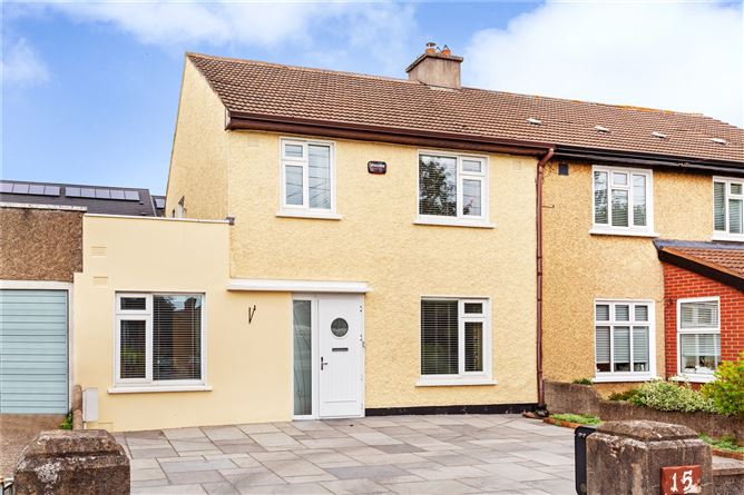 Main image for 15 Woodlawn Park,Lower Mounttown Road,Dun Laoghaire,Co Dublin,A96 X7D1