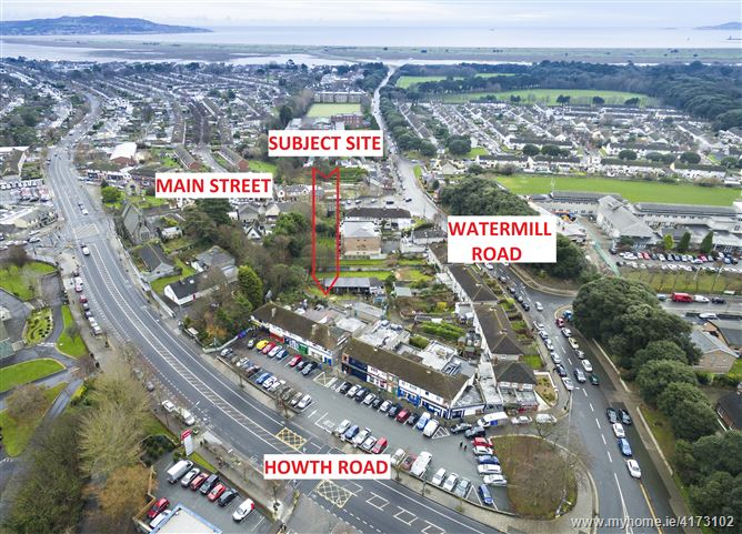 Development Site c. 0.487 acres  to the Rear of Howth Road/Watermill Road, Raheny, Dublin 5