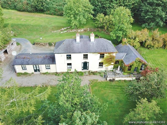Period Farmhouse on c. 2.75 Acres/ 1.1 Ha., Slievecorragh, Hollywood, Wicklow