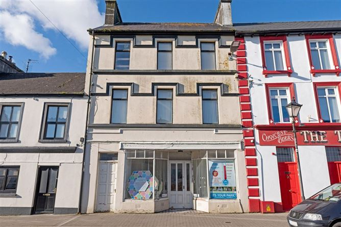 Main image for Former office at Main Street & Mews building (MY22887F & MY7431), Kiltimagh, Co. Mayo