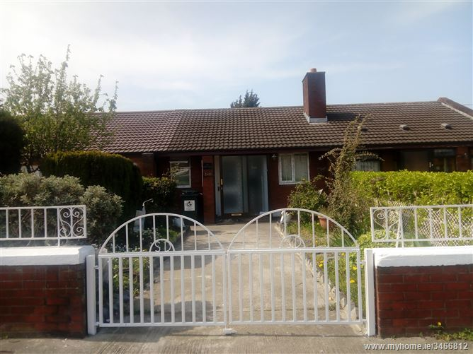 Three Bedroom Bungalow for Rent, Crumlin, Dublin 12