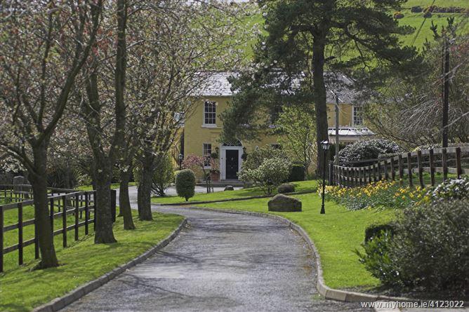 Photo of Ballinteskin Stud, Enniskerry, Co. Wicklow on c. 118 acres / 47.7 hectares.