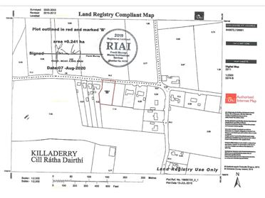 Main image for C. 0.59 Acre Site at Killaderry, Daingean, Offaly