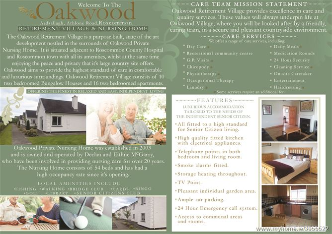 Photo of Oakwood Retirement Village,Roscommon,Co. Roscommon
