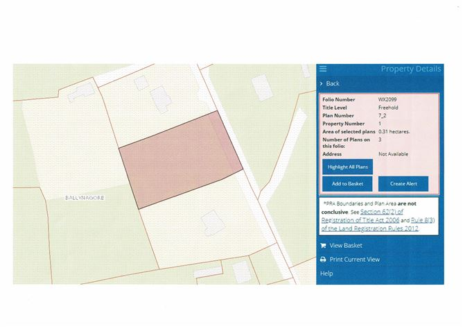 Main image for 0.75 Acre Site, Ballinagore, Blackwater, Wexford
