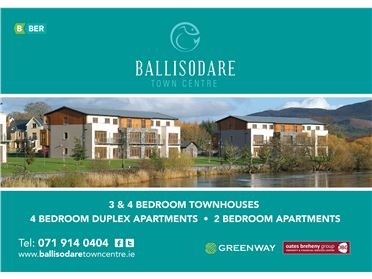 Photo of 3 Beds @ Ballisodare Town Centre, Ballisodare, Sligo