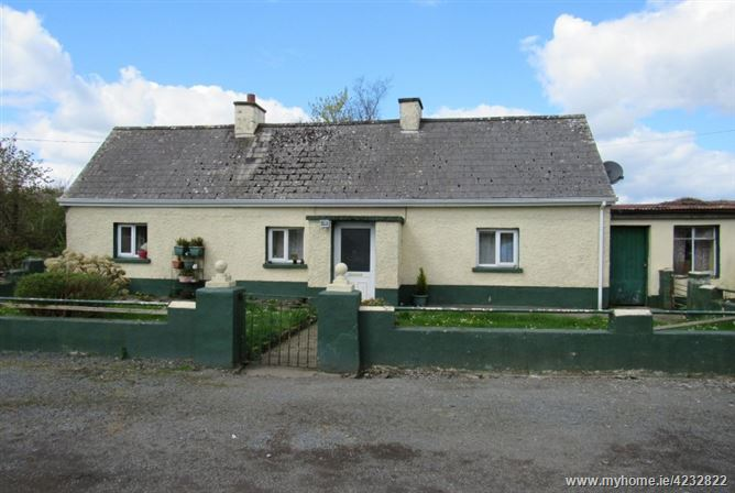 House & Land c 13.7 acres @ Garrycam, Co Longford, Ardagh, Longford