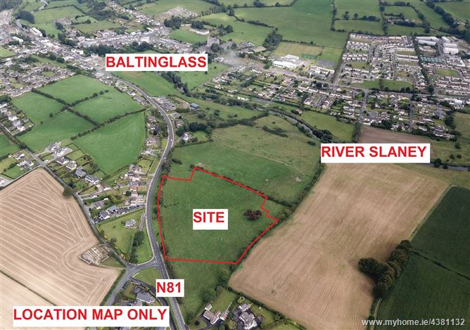 Main image for RESIDENTIAL DEVELOPMENT SITE C.9.1 ACRES/3.7 HA WITH FULL PLANNING PERMISSION, Bawnogues, Baltinglass, Wicklow