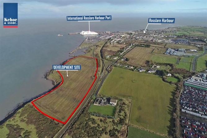 Main image for c. 18 Acres Development Site at Rosslare Harbour, Co. Wexford