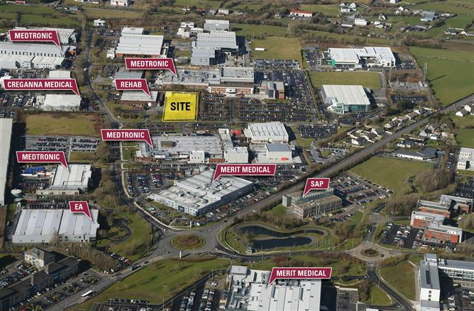 Main image for c. 0.44 Hectares (1.10 Acres), Parkmore West Business & Technology Park, Parkmore, Ballybrit, Galway City