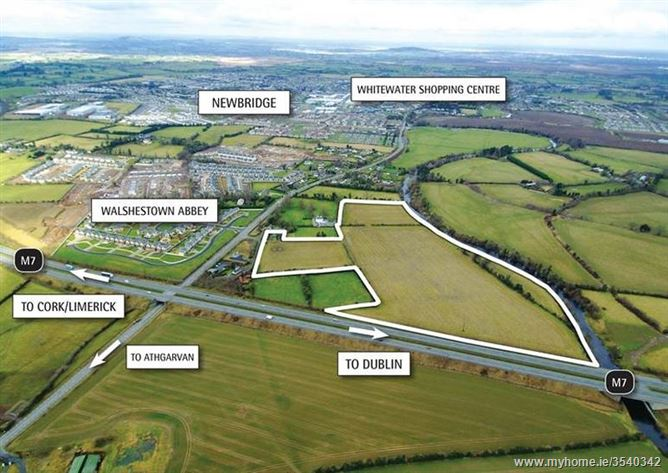 C. 27 Acres (11 Ha), Walshestown