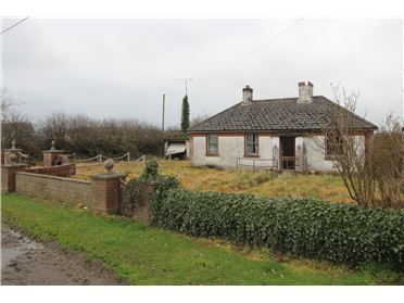 Photo of Site with Cottage Gillstown, Garlow Cross, Navan, Meath