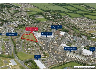 Photo of Site contained within Folio MH65706F, Frederick Street, Ashbourne, Co. Meath