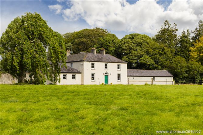 Brookville House , Carbury, Co. Kildare - on c.180 acres.