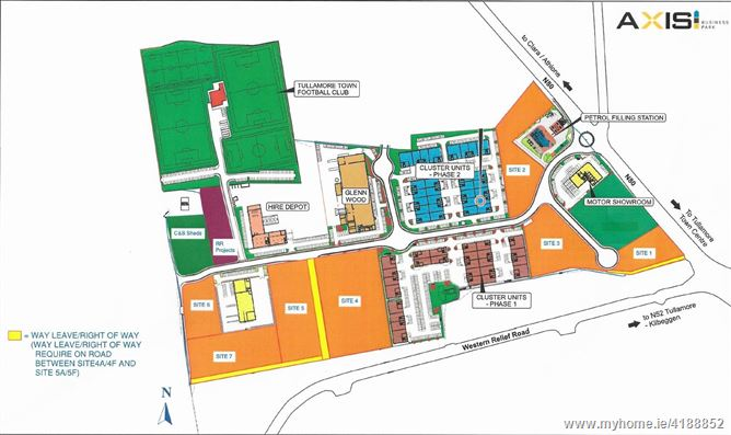 Main image for Development Sites, Axis Business Park, Tullamore, Offaly