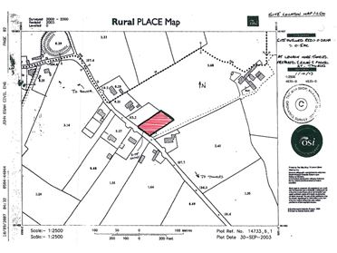 Photo of 0.5 Acre Site (Subj. To P.P.), Leugh, Thurles, Co. Tipperary