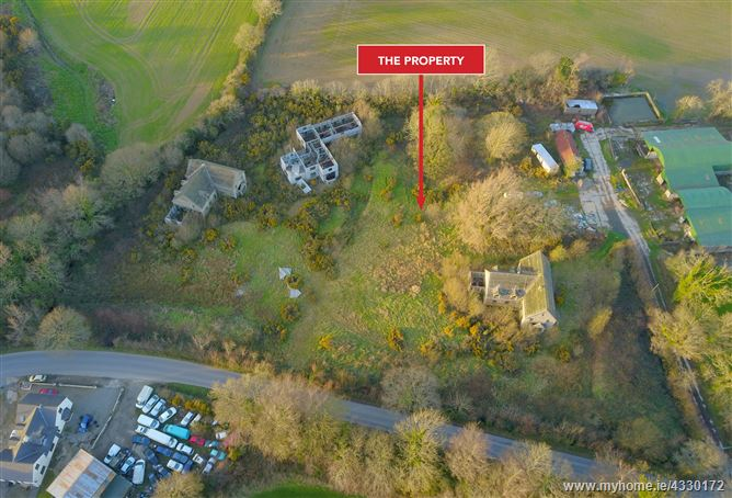 Image for 3 x Partially complete houses and land at (Folio WX8572), Ballinashough Wells, Gorey, Co. Wexford