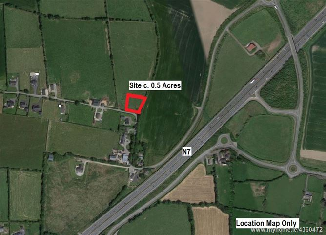 Site on c. 0.5 Acre, Delahunt's Lane, Castlewarden, Straffan, Kildare