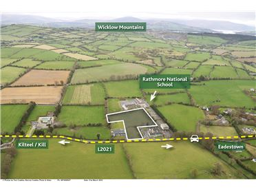 Photo of Site with FPP for 4 Houses Rathmore, Naas, Co. Kildare -  Approx. 2.93 acres (1.18ha)