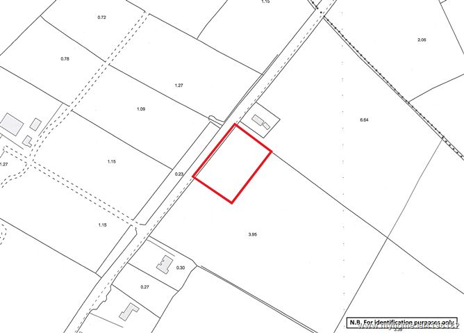 Land comprised within Folio KY3464F, Cloontubrid South, Listowel, Co. Kerry