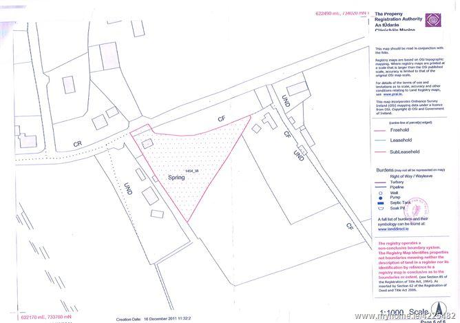 C. 1.087 Acre Site, Bolart, Clara, Offaly