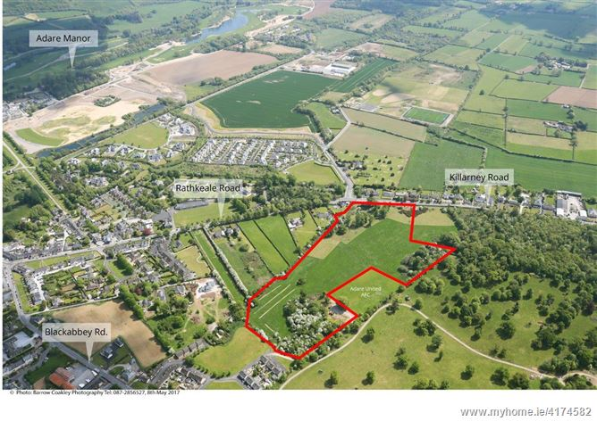 7 ha (17.29 Acres), Development Land, Adare, Limerick