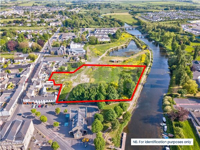 Main image for 2.5 Acre Development Site at The Abbey, Emily Square, Athy, Co. Kildare