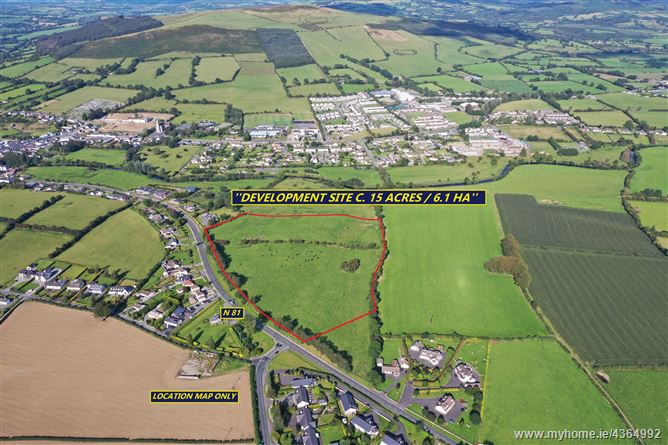 RESIDENTIAL DEVELOPMENT SITE C.15 ACRES/6.1 HA WITH FULL PLANNING PERMISSION Bawnogues, Baltinglass, Wicklow