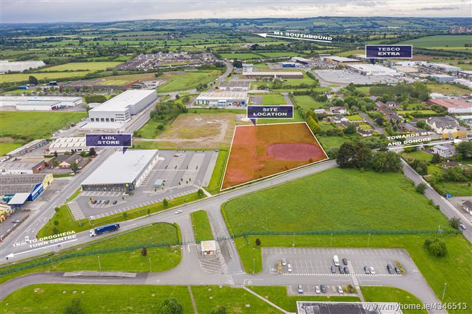 Main image for 3 acre site at Donore Road, Drogheda, Louth