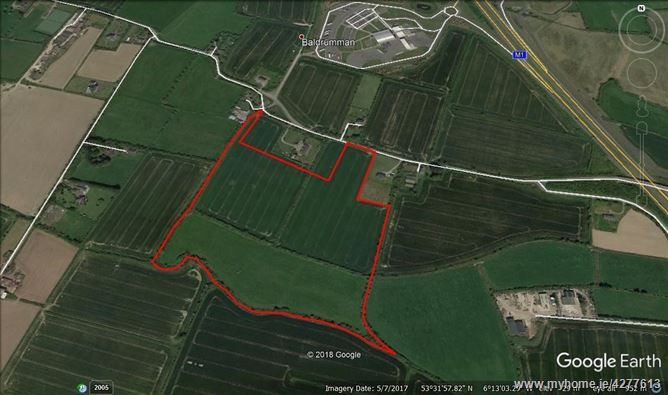 c. 27 Acres / 10.93 Hectares at Baldrumman, Lusk, County Dublin