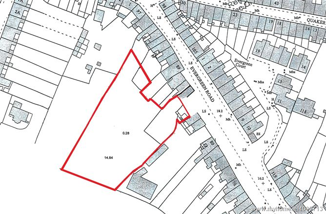 Photo of 0.7 Acre Site at Evergreen Road , Turners Cross, Cork