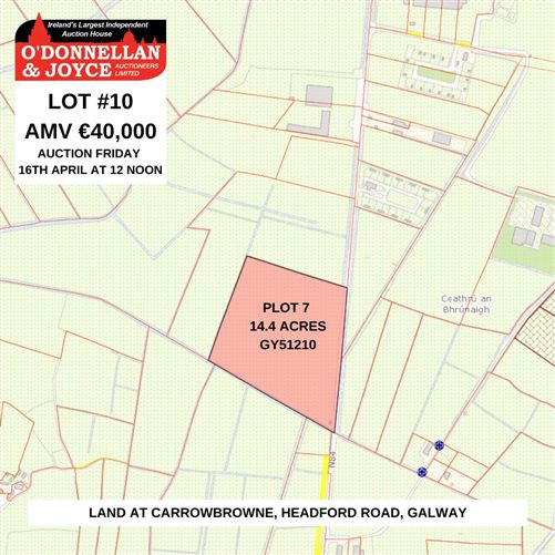 Main image for PLOT 7 - Carrowbrowne (GY51210), Headford Road, Galway