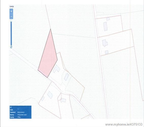 Main image for C. 0.7 Ac Site- Ballycommon, Tullamore, Offaly