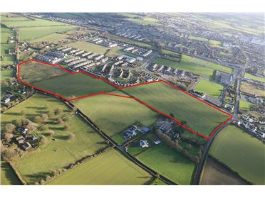Main image of FPP for 361 Houses at Rickardstown, Newbridge, Kildare