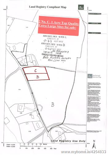 Two C. 1 Acre Sites - Ballycue, Geashill, Offaly