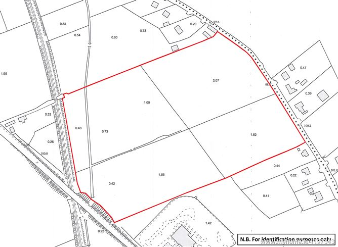 Land contained within Folio TY23476, Bohercrow, Tipperary Town, Co. Tipperary