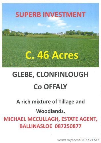 Glebe, Clonfanlough, Shannonbridge, Offaly