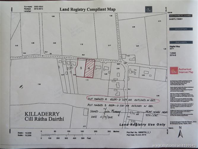 C. 0.52 Acres Site at Killaderry, Daingean, Offaly