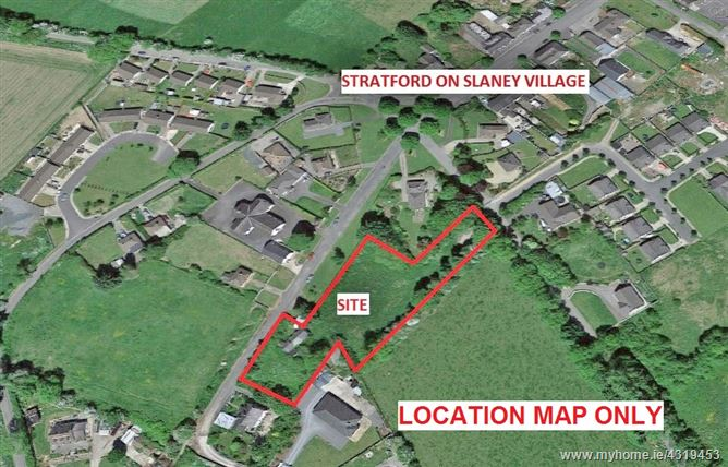 Development Site/ Cottage on c. 1.1 Acres/ 0.45 Ha., Baltinglass Street, Stratford-on-Slaney, Wicklow
