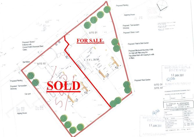 Main image for Site For Sale, Westport Road , Castlebar, Mayo