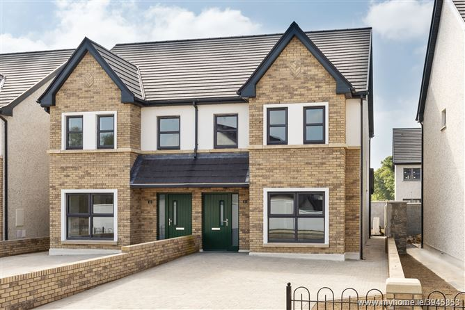 The Riverside, Ryebridge, Kilcock, Co. Kildare - new 3 bed semi-detached.