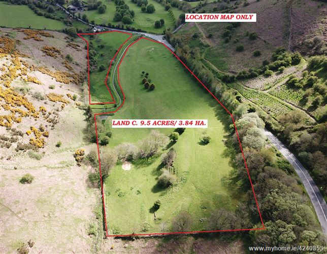 Land c. 9.5 Acres/ 3.8 HA., Ballinascorney Lower, Bohernabreena, Dublin