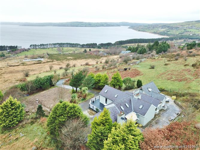 Unique Residence with Lake Views on c. 0.5 Acres/ 0.202 Ha., Kylebeg