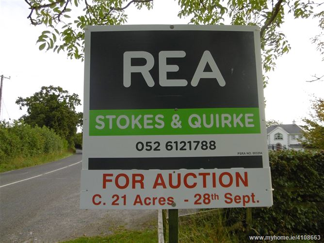 Photo of For Auction 21 acres at Kilbreedy, Killenaule, Tipperary