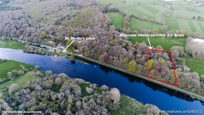 Riverside Chalet on Circa 0.3 Acres, St. Mullins, Carlow