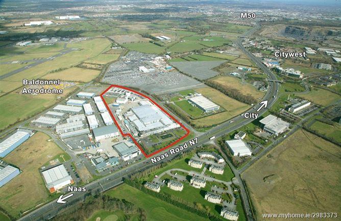 Former Lufthansa Technik Facility, Naas Road, Saggart, Dublin