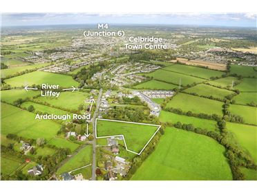 Main image of Ardclough Road, Newtown, Celbridge, Co. Kildare c.4 acres (1.64 ha) Zoned Residential